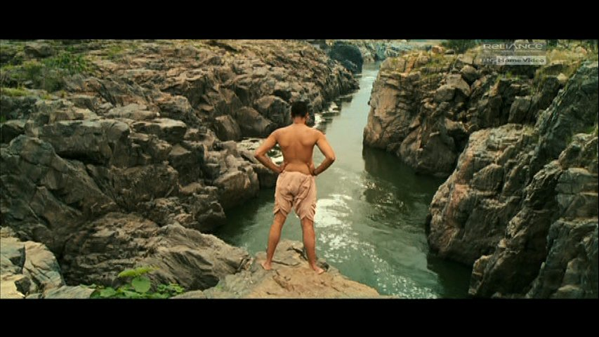 Beera's Introduction scene shot at Hogenkkal Waterfalls
